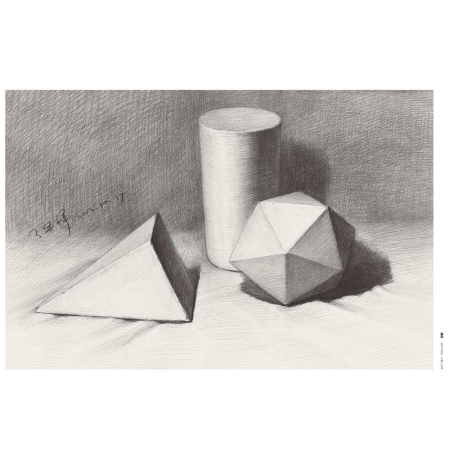 素描石膏几何体一共有多少个棱柱除了四六八棱柱以外