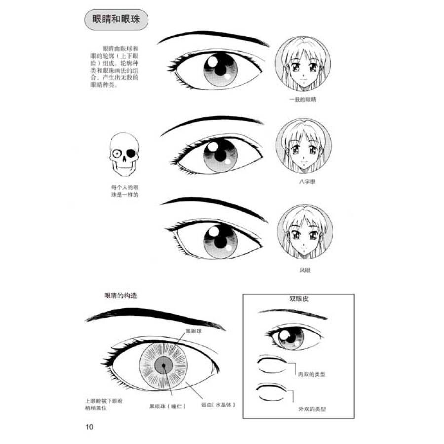 《日本漫画手绘技法经典教程(5):美少女的画法》