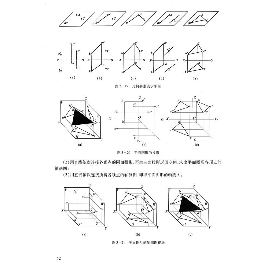 建筑手绘线稿高清图轴测图