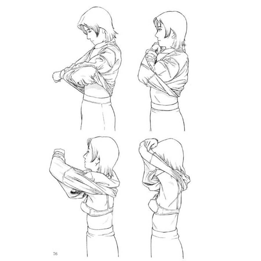 《日本漫画手绘技法经典教程(9):衣服的画法》【摘要