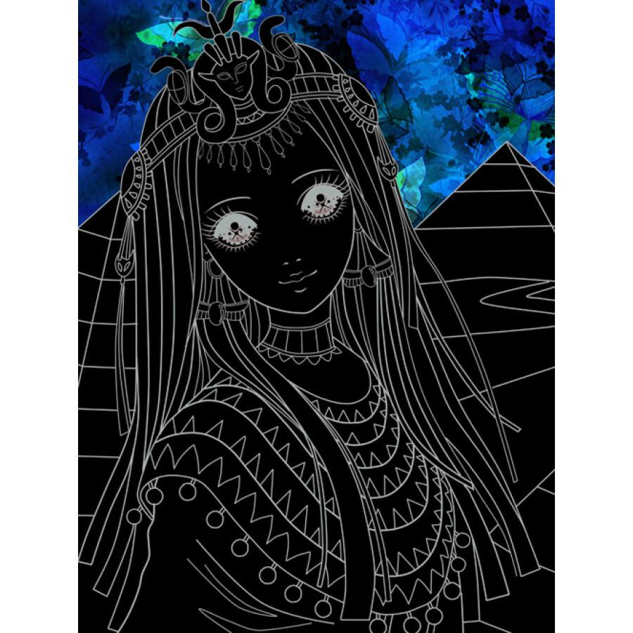 公主漫画简笔画