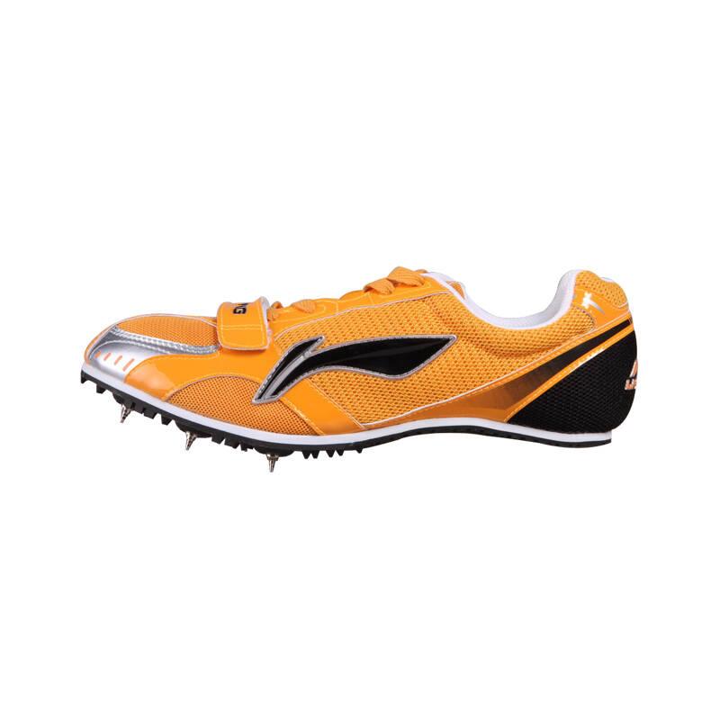 钉鞋囹�a_正品李宁钉鞋 专业田径短跑鞋 跑步训练钉鞋 比赛跑钉鞋 ajjg044 荧光
