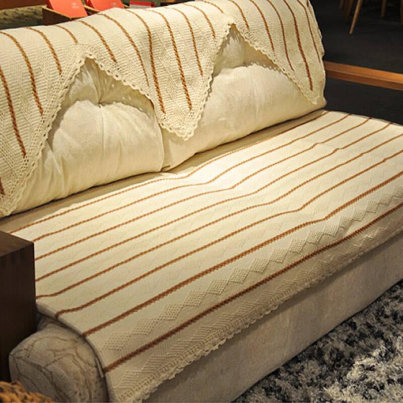 """乐唯仕""""舒适条纹编织系列""""沙发垫/坐垫/地垫/飘窗垫"""