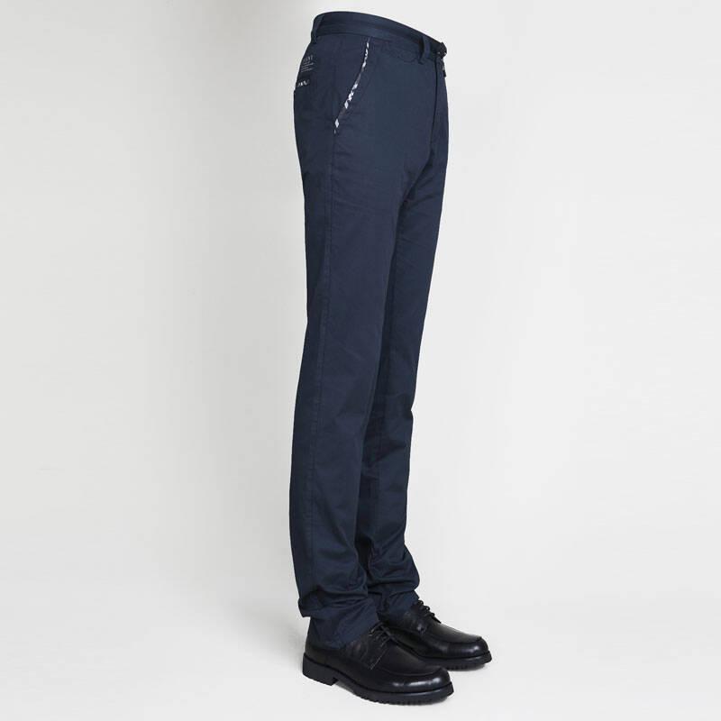 vvint新款男式休闲裤 时尚贴边男士商务裤 3d立体裁剪图片