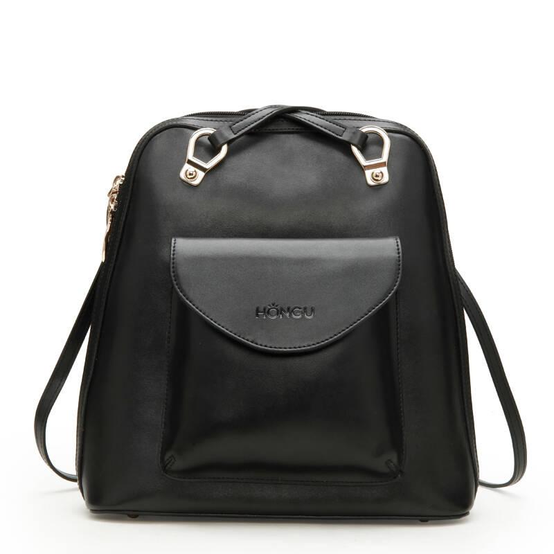 红谷女包专柜正品2013新款休闲真皮背包双肩包单肩包通用包包h图片