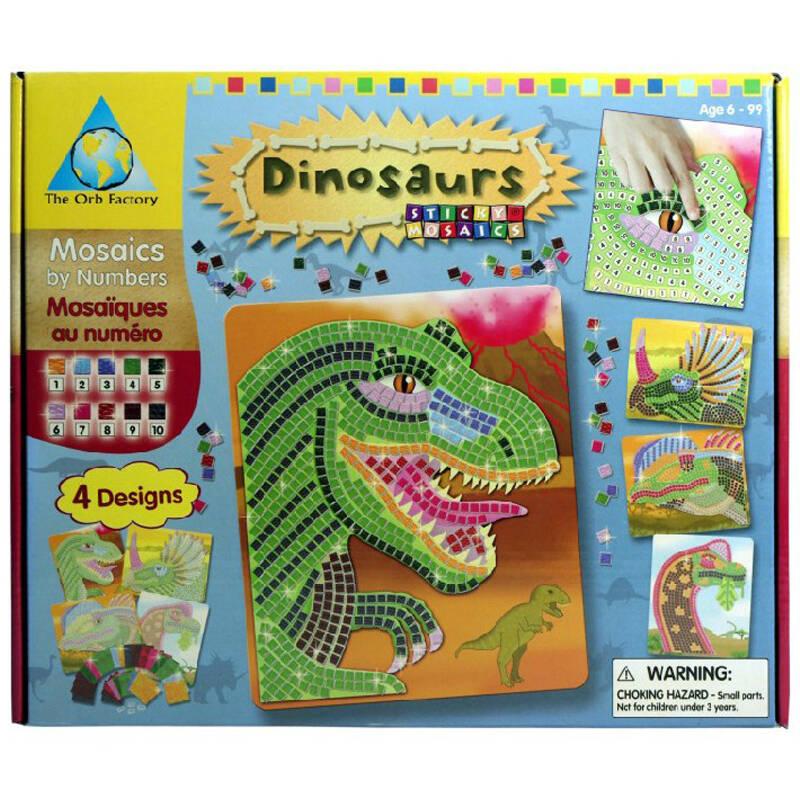 儿童手工制作马赛克拼图立体数字贴纸eva贴画618爆品 恐龙