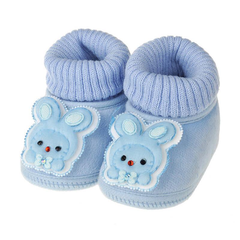 umiumi2014春款宝宝鞋可爱小兔子婴儿鞋 0-1岁防滑底保暖不掉跟学步鞋