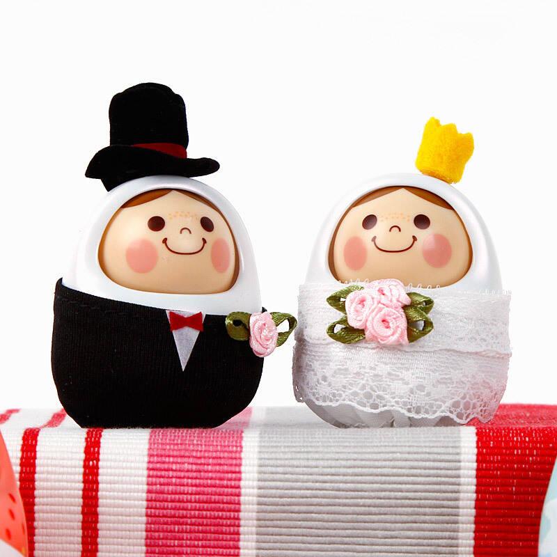 可爱卡通娃娃 结婚纪念 点头娃娃 声控点头娃娃 爱情是从告白开始的