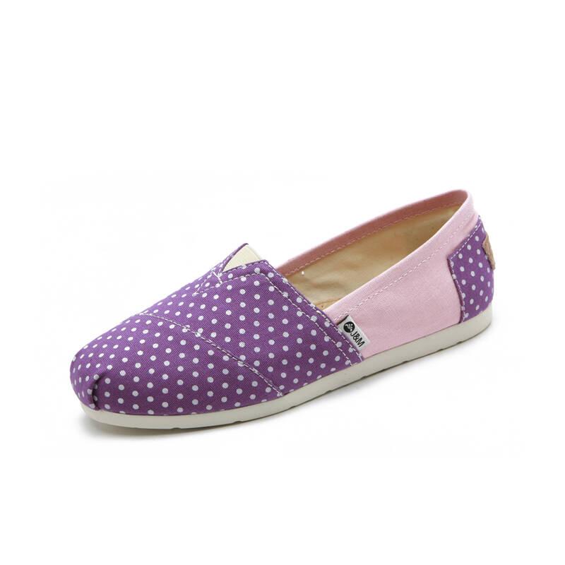 快乐玛丽帆布鞋女
