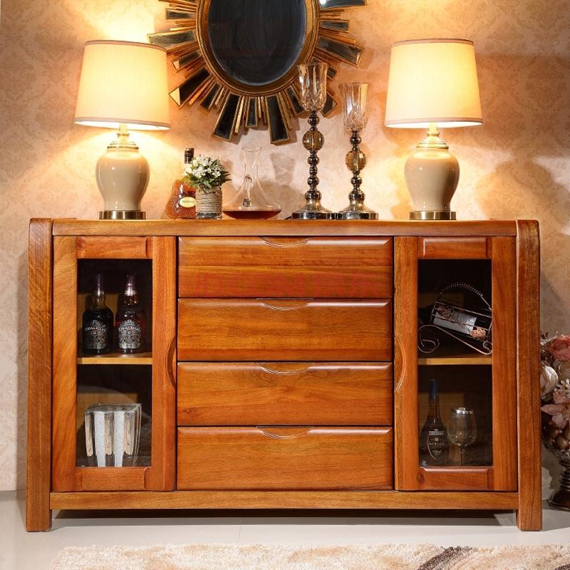 蠡家具馆中式胡桃木书房家具实木书柜书桌书架组合单个书桌