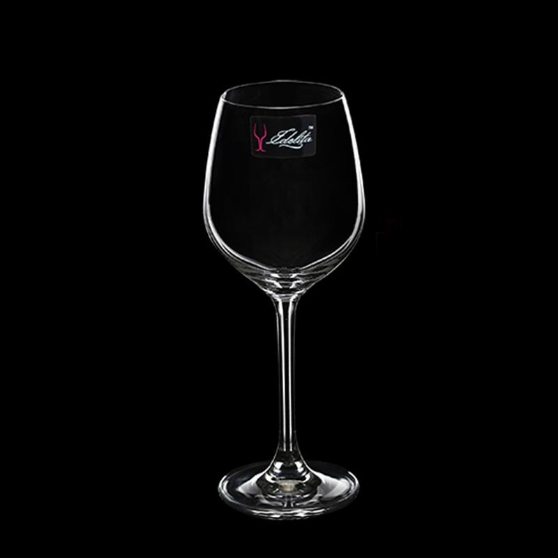 进口品质 edelita意德丽塔 人工吹制 塞纳风情 水晶玻璃葡萄酒杯红图片