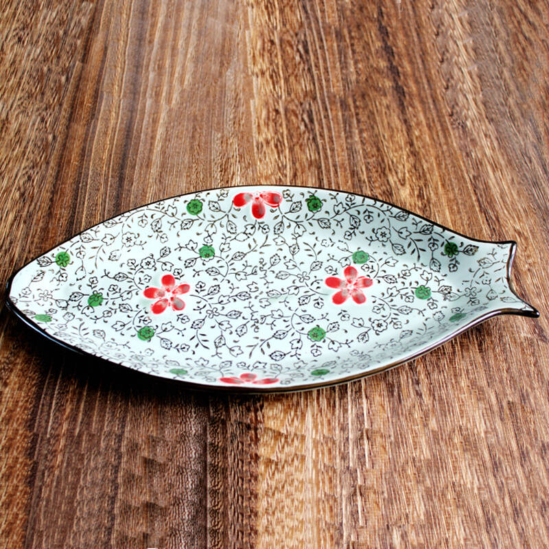 陶瓷手绘釉下彩