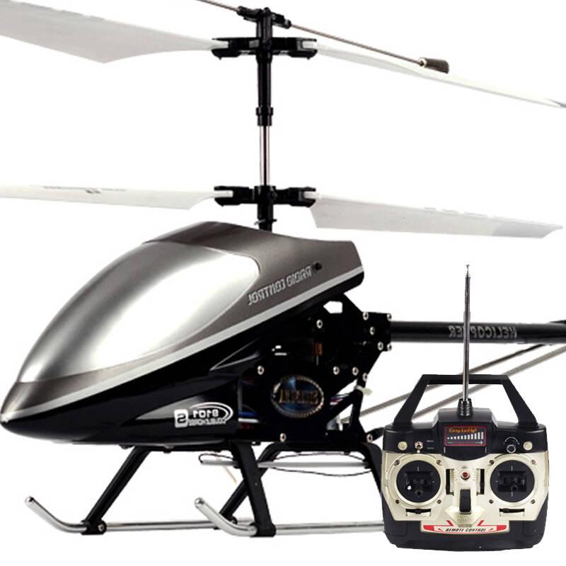 杰星jie-star 超大合金遥控飞机充电航模 直升机耐摔直升飞机 3通道