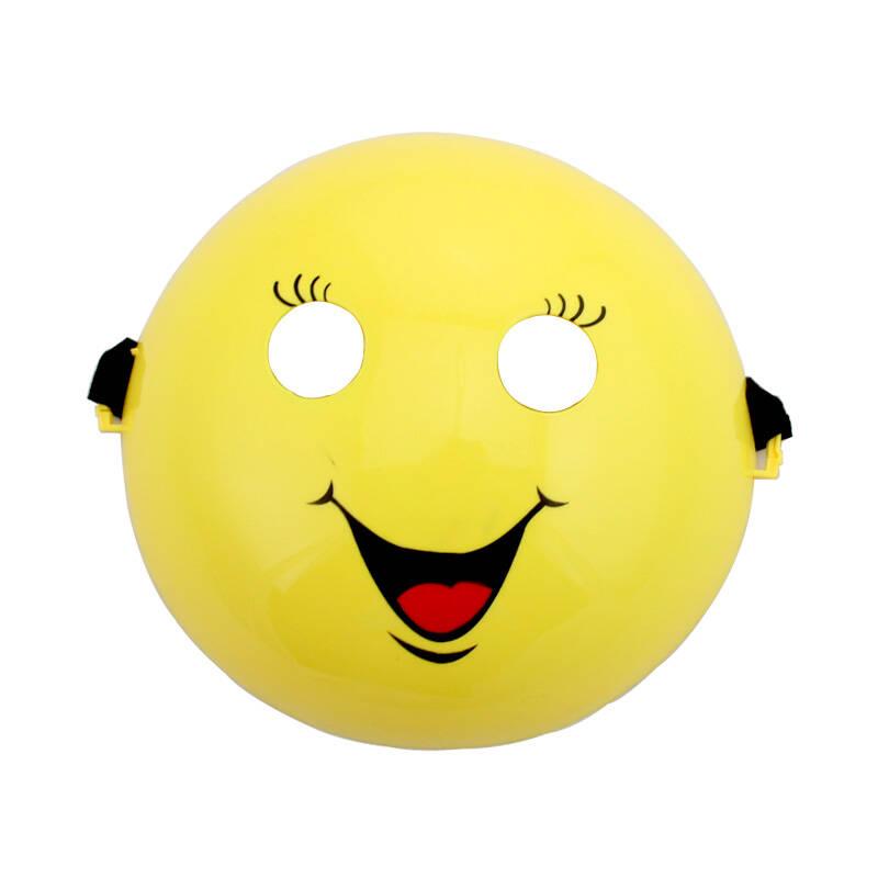 笑脸面具 儿童亲子活动成人面具