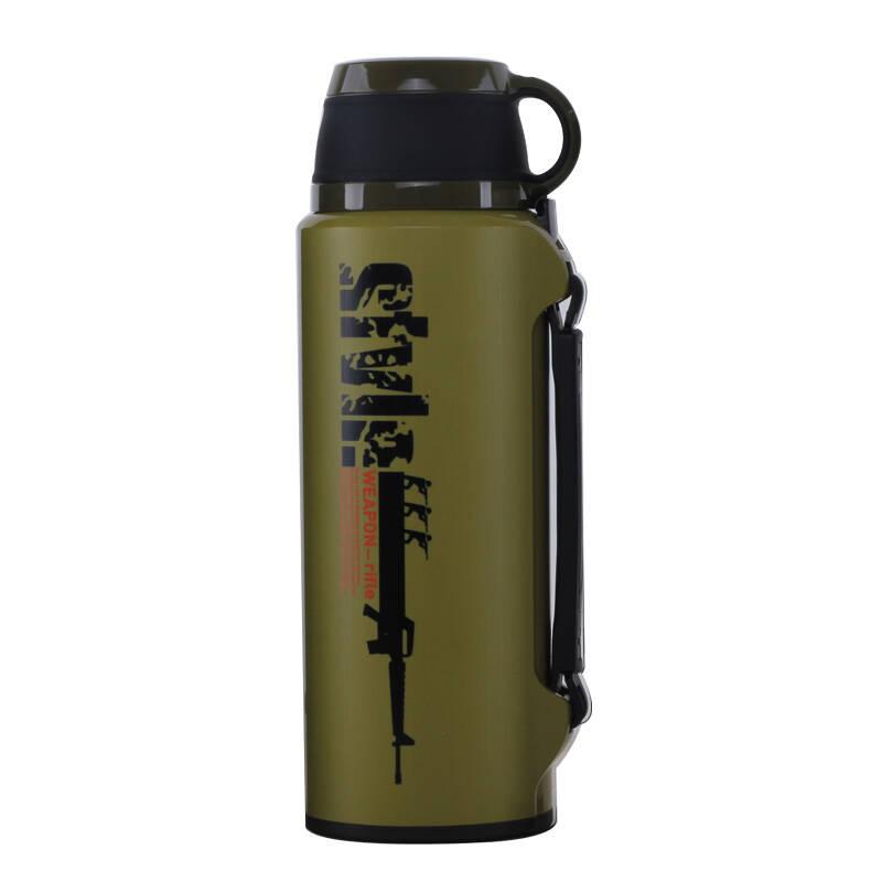 路饮者2000ml旅游瓶 旅游壶男士女士保温瓶户外保温保保温瓶q31 7760c