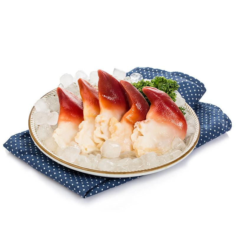 金御丰海鲜 加拿大冷冻北极贝 1袋 5-6个 500g  刺身料理图片