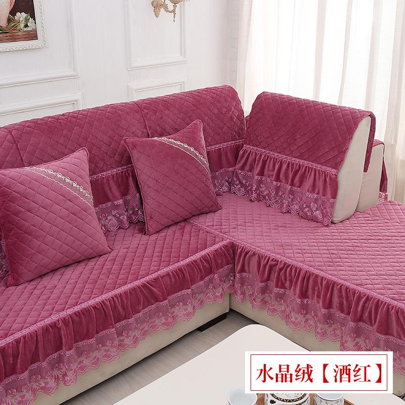 时尚沙发巾四季欧式皮沙发套罩防滑沙发坐垫