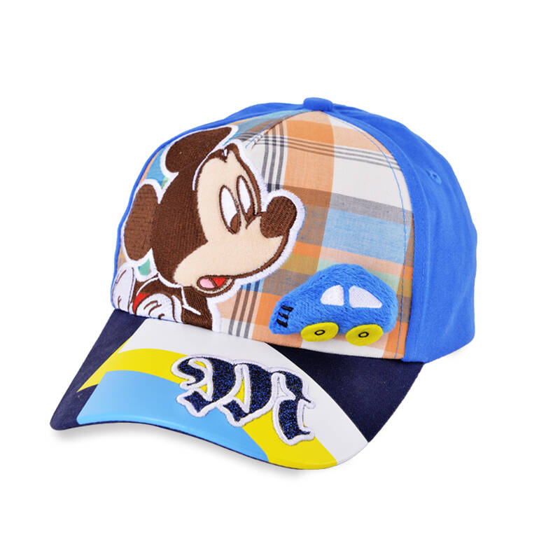 童_迪士尼(disney)宝宝帽子男童女童帽米奇 小孩幼儿童遮阳棒球帽男女
