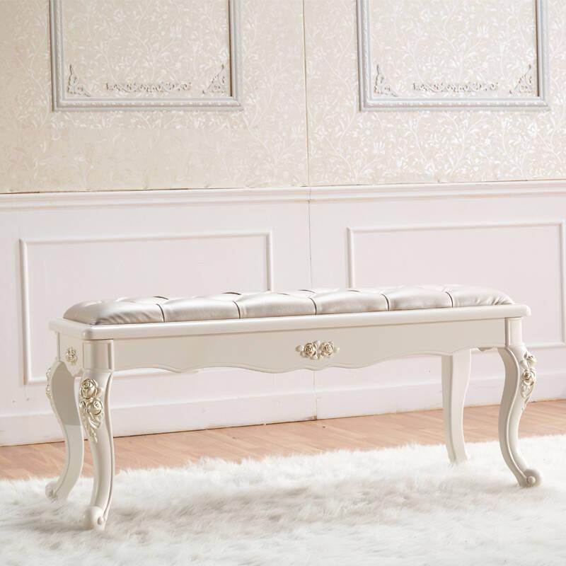 法式床尾凳 欧式换鞋凳
