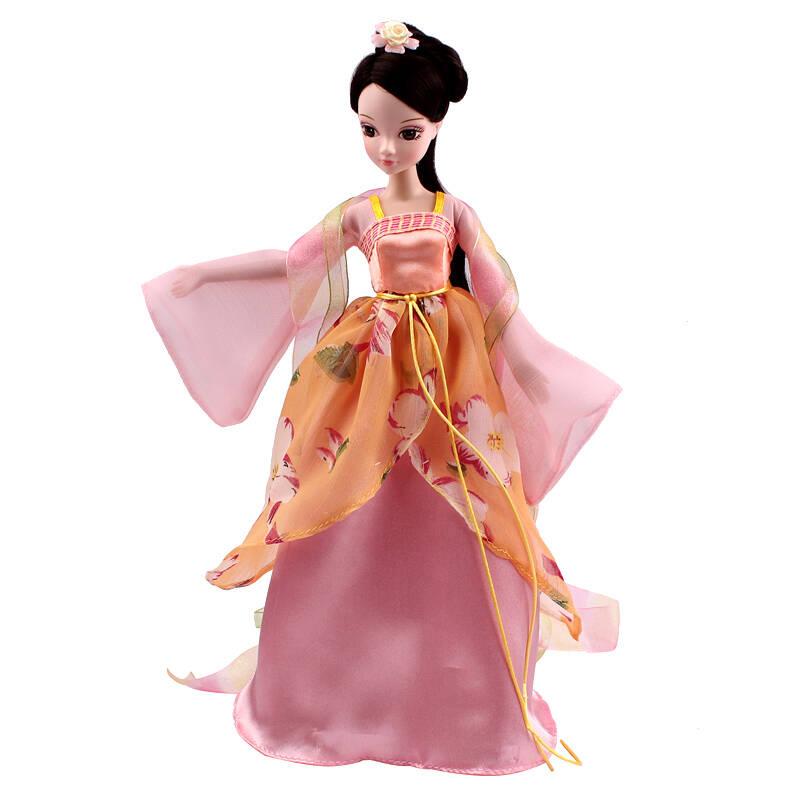 正品可儿娃娃可儿芭比娃娃中国古装新四季仙子巴芘系列套装 女孩玩具