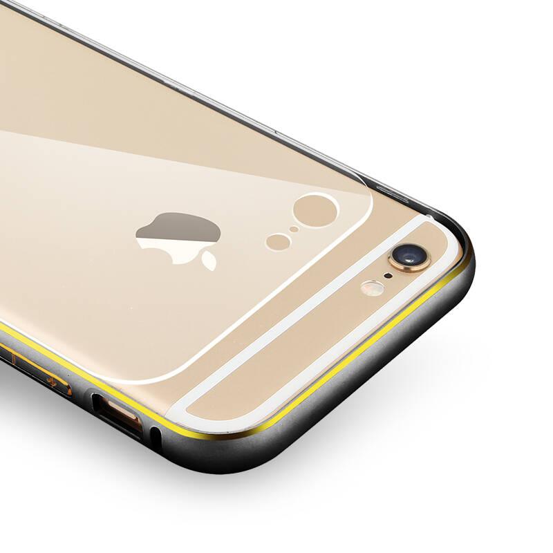 萝莉 晶盾系列金属边框手机壳保护套适用于苹果6/iphone6 plus 4.