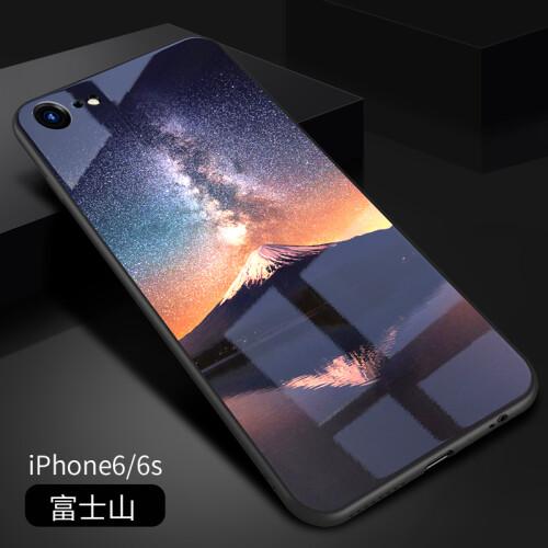 苹果7plus手机壳iphone6全包防摔套8潮男6plus玻璃硅胶女6s镜面软6无锡化振宇设备公司冶图片