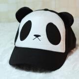 咏咭美 范冰冰熊猫卡通头像鸭舌帽棒球帽可爱