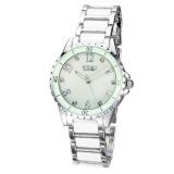 艾奇石英表 韩国时尚手表 精品简约陶瓷表 镶钻