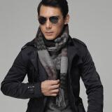Agalloch新款波纹的律动羊毛围巾SME12874 灰