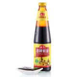 【海天蚝油黄酒725g和李锦记味蚝鲜招牌680姜枣红糖蚝油图片