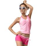 奇海有用游泳衣分体两女士粉红XL码QH92122v有用件套吗鞋图片
