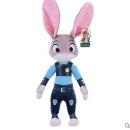 疯狂动物城zootopia兔子警官狐狸公仔毛绒玩具 兔朱迪狐尼克玩偶 兔子图片