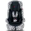 艾宝 汽车儿童安全座椅 宝宝婴儿车载安全坐椅车用小孩9个月-12岁 加强型侧护推荐款 斑马纹
