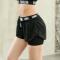余温跑步短裤女夏防走光速干假两件运动短裤健身训练短裤