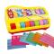 宝宝八音手敲琴儿童八音琴 婴幼儿宝宝女孩早教益智音乐器玩具1-3岁 宝丽欢乐大敲琴黄送琴谱