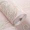 米迪(MIDI) 欧式田园浮雕立体3D无纺布餐厅壁纸 客厅电视背景墙卧室墙纸环保婚房 550203浅粉色