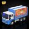 新菱小型惯性工程车翻盖车儿童货车送餐车模型运输车男孩玩具礼品
