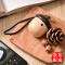 JS 【京东配送】几素坚果音响 迷你便携蓝牙音箱 车载音响手机低音炮 创意礼物 原木工艺