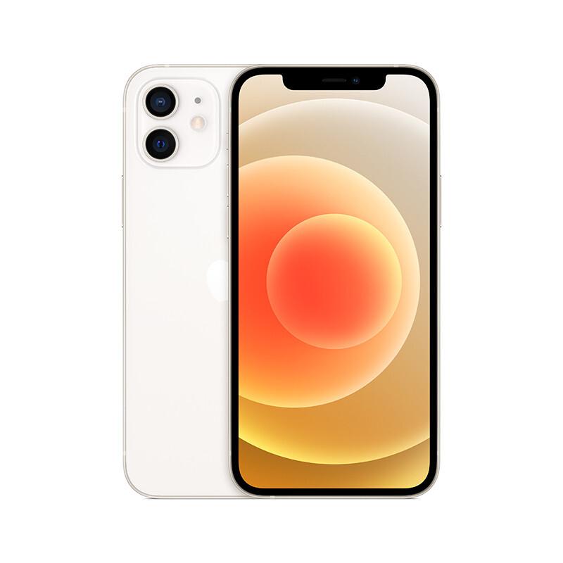 Apple iPhone 12 128GB 白色 支持移动联通电信5G 双卡双待手机