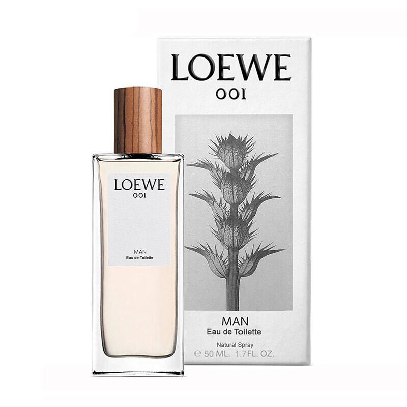 Loewe 罗意威 001 事后清晨 EDT 男士香水50ml 双重优惠折后¥379秒杀