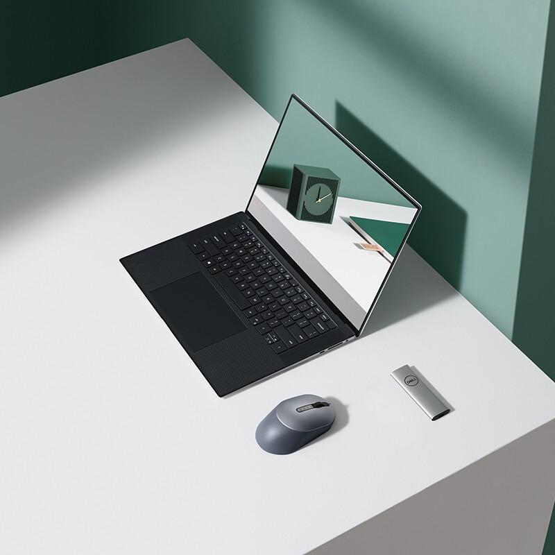 戴尔DELL XPS15-9500 15.6英寸英特尔酷睿i7 2020新款防蓝光全面屏设计笔记本电脑(十代标压i7-10750H 16G 512G GTX1650Ti 4G独显)银 送两年碎屏保