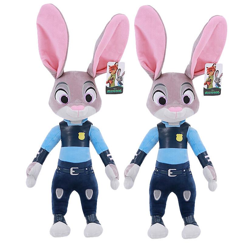 迪士尼(disney)疯狂动物城 朱迪兔子 卡通公仔玩偶 毛绒玩具抱枕 布