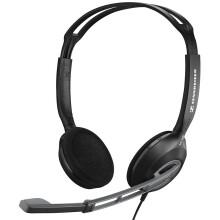 森海塞尔(Sennheiser) PC230 头戴式电脑通讯/游戏耳机 耳麦 双插口 黑色