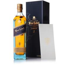 尊尼获加(Johnnie Walker)洋酒 威士忌 蓝方 蓝牌 调配型苏格兰威士忌 750ml