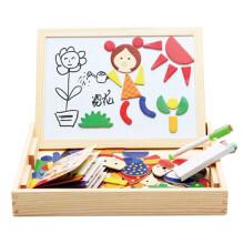 磁性标准拼拼乐京东第三方木质磁性七巧板儿童益智玩具积人物儿童玩具木制环保图片