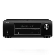 天龙(DENON) AVR-X500 家庭影院 5.1声道(5*110W)AV功放机 支持3D 黑色