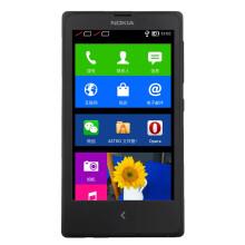 诺基亚(NOKIA)X (黑色)双卡双待手机 WCDMA/GSM