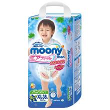 moony 各型号纸尿裤500-100/300-30,买4包平均104元/包,近期低价。
