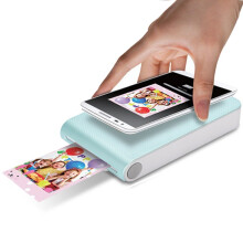 LG趣拍得 POPO相印机 手机便携相片打印机 手机照片拍立得 PD239B 蓝色