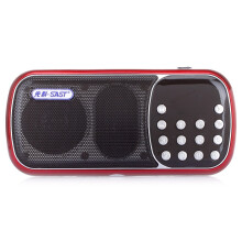 先科(SAST) SA-862 便携数码音响 (红色)